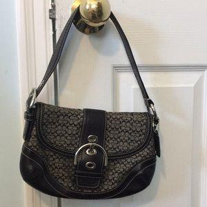 COPY - Black signature small coach bag